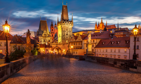 The historic center of Prague ancient architecture and cultural heritage photo