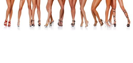 Long beautiful female legs. Please see some of my other parts of a body images: