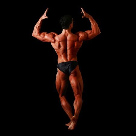 Menschlichen K�rper eines Mannes Anatomie. Sonstige Muskel-Bilder: Lizenzfreie Bilder