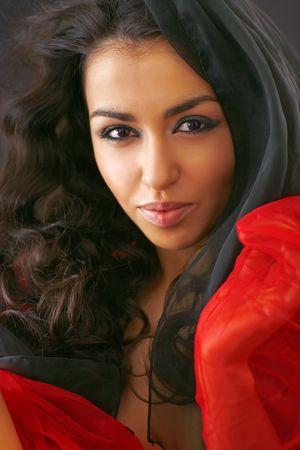 Portr�t sehr sch�ne junge Frau, sexy Lizenzfreie Bilder
