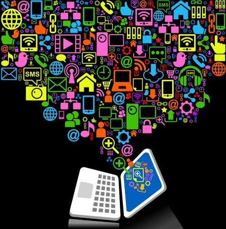 mail man: medios de comunicaci�n social, la comunicaci�n en las redes mundiales de inform�tica