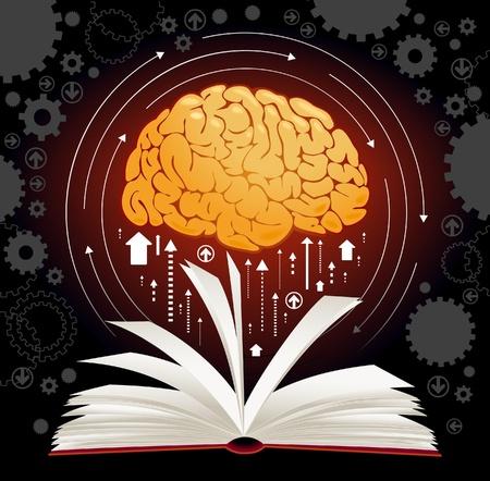 perceptie: het concept van het produceren van kennis van de mens Stock Illustratie