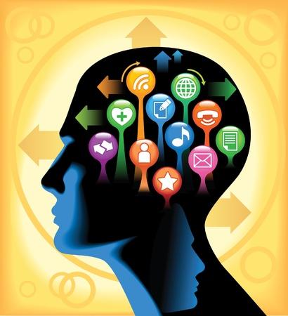 social issues: Social-Media-Brain Lo sviluppo delle comunicazioni globali