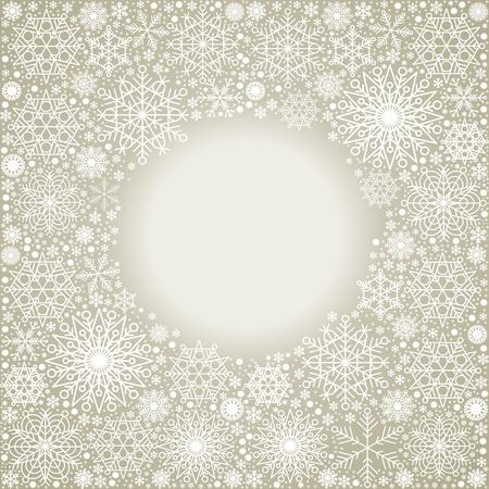 quantity: christmas background,  large quantity  snowflakes