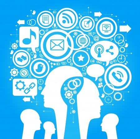 social issues: Sviluppo Media-Human-mobile.The delle comunicazioni globali. Comunicazione nelle reti mobili e internet