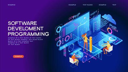 Webbanner programmieren. Beste Programmiersprachen. Technologieprozess der Softwareentwicklung