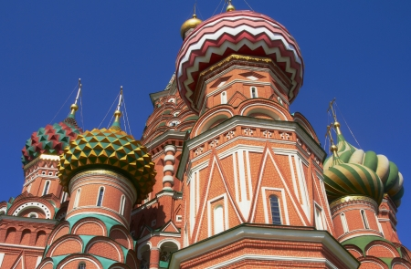 Moscow Kremlin, Red Square, St Basil Cathedral  photo