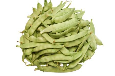 runner bean: Runner Bean Stock Photo