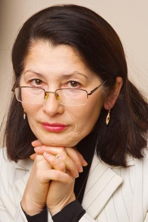 Portrait of Asian Businesswoman Stock Photo