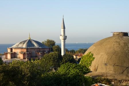Minaret, Istanbul, Turkey