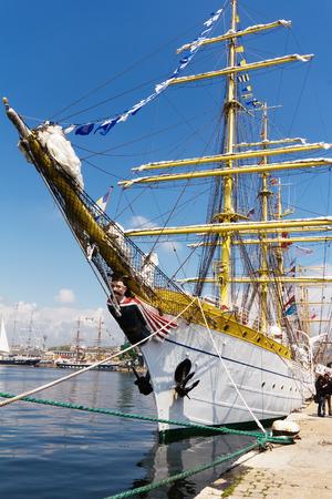 International Regatta SCF BLACK SEA TALL SHIPS REGATA 2014, Varna, Bulgaria 1,May,2014  Editorial