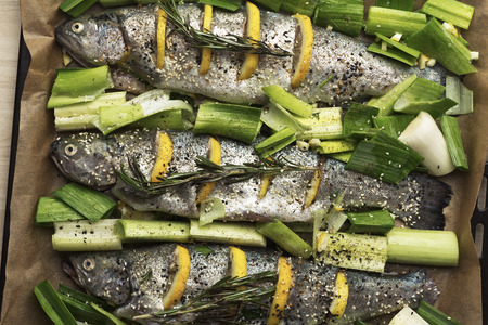 catfish: Cooking trout with lemon