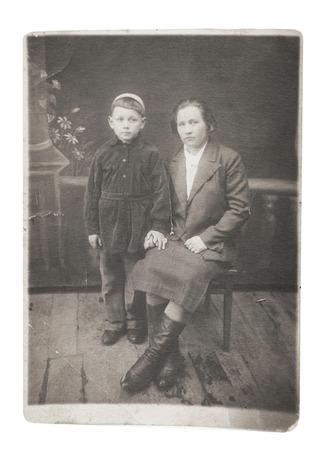 photo Vintage portrait