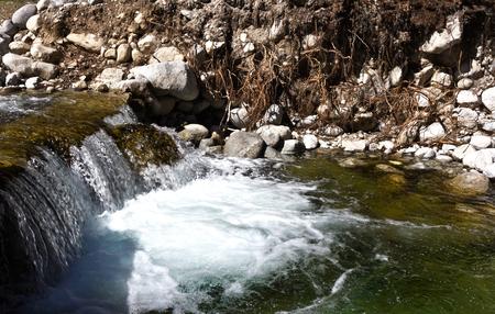 Stone river in Bansko,Bulgaria
