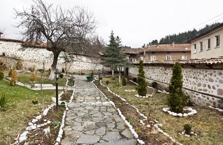 Medieval church of St. Theodore Tyron, Dobarsko village, Blagoevgrad region, Bulgaria Stock Photo