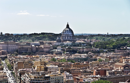 Rome skyline Panorama