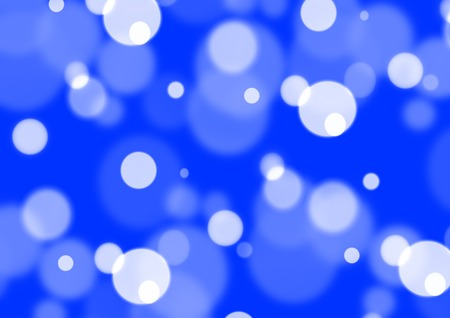 blots: blue abstract background with stains, bubbles and blots