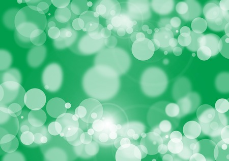 tones: abstract background with stains and blots in green tones Stock Photo