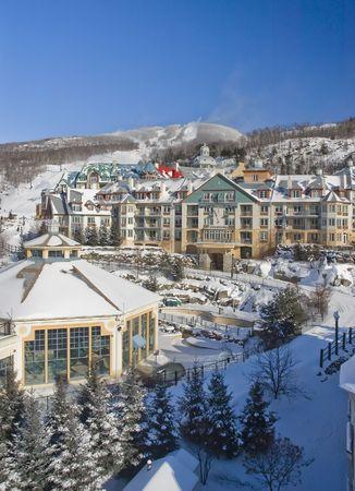 Mont Tremblant ski village in Quebec Canada