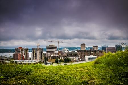 Panoramic view of the city of Halifax Nova Scotia Canada