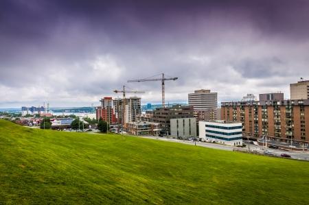 scotia: Panoramic view of the city of Halifax Nova Scotia Canada