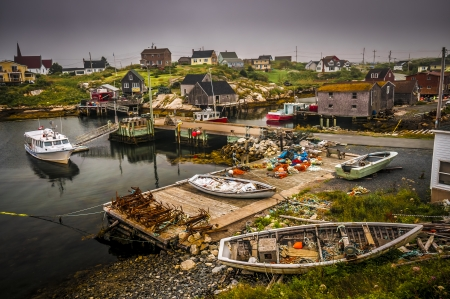 Touristic village of Peggy
