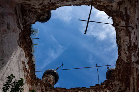an old Orthodox Church in need of repair