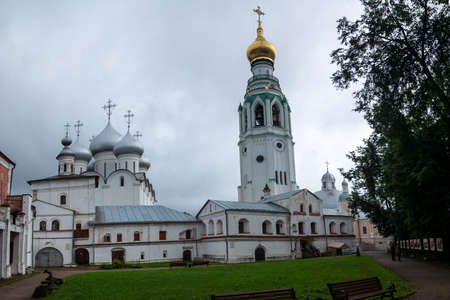 Bell tower of the Vologda Kremlin ensemble Фото со стока