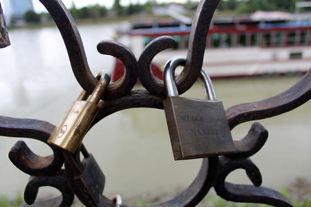Locks, ancient kind of magic that should ensure strong relationship