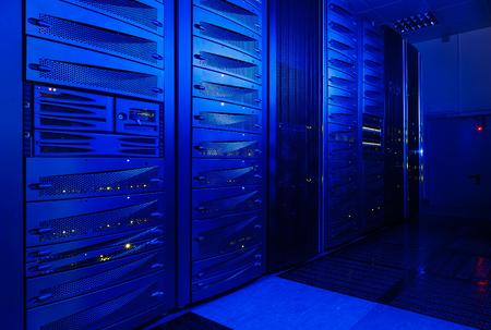 electricity providers: rackserver hardware in the data center