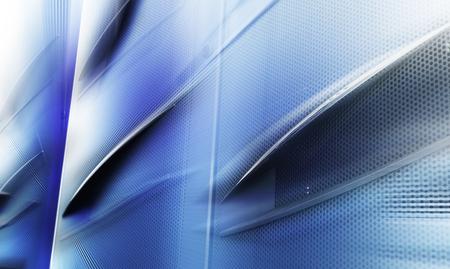 mainframe: door mainframe in modern data center blur closeup with motion blur
