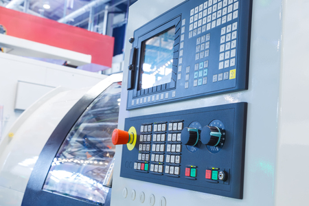 panel: machine control panel CNC