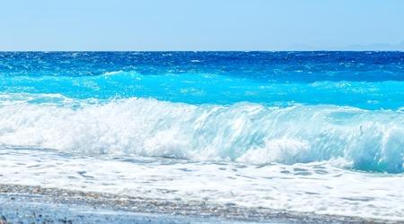 wavelet: surf beach Stock Photo