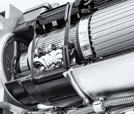 steam turbine: Close up of internal rotor of steam Turbine