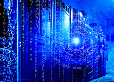 futuristic concept server technologies and the technological background