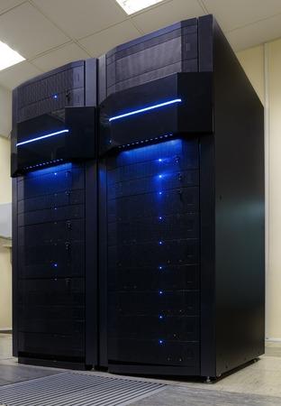 computational: two modern supercomputers in  computational data center