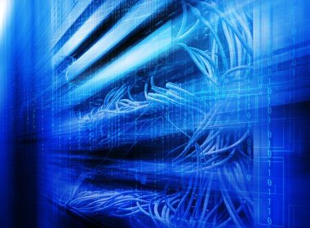 mainframe: series mainframe in a futuristic representation of  matrix code