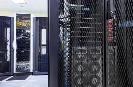 ranks modern supercomputers in the computational data center Reklamní fotografie - 82858511