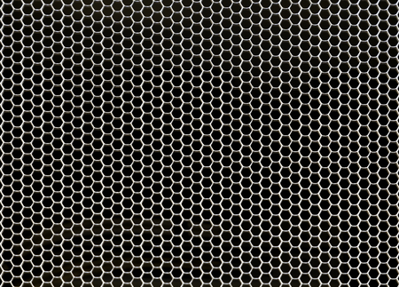 grille: Close up of front server computer grill