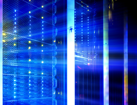 disk array in the data center