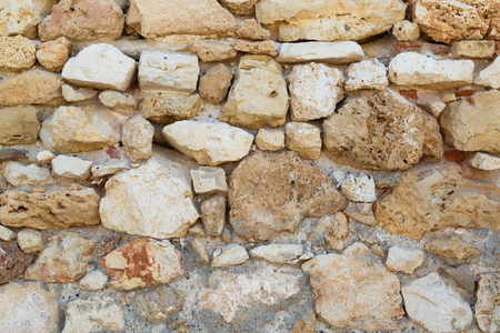 Stone wall of ancient castle background