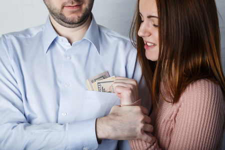 Wife s sly attempt to get money out of husbands pocket