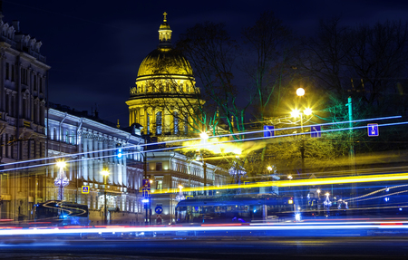 Saint Petersburg. Russia. Saint Isaacs Cathedral. Museums of St. Petersburg. Cities of Russia. Streets of Petersburg. City center.