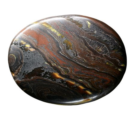 cabochon: pietre dure isolata on white