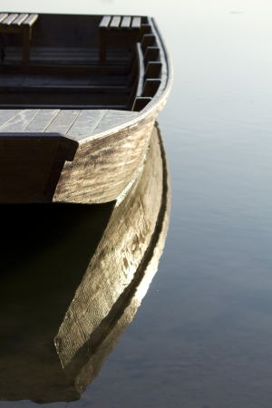 I photographed this old boat in the morning before he set sail on a fishing expedition