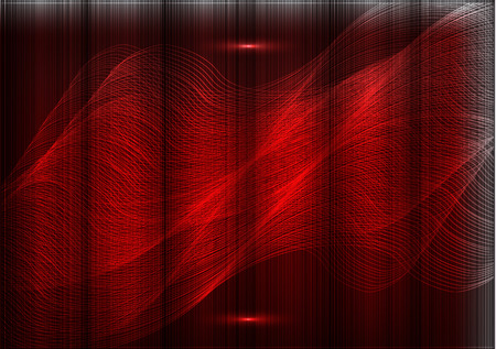 Light thin lines on a red background