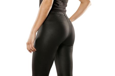 예쁜 여자 엉덩이에 스타킹