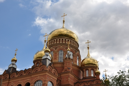 The domes of the Orthodox Church