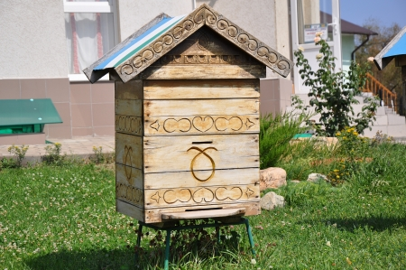 Home for the bees Stock Photo