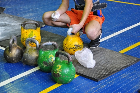 Preparation for competitions for weight lifting